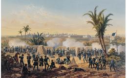 Tropas estadunidenses toman el puerto de Veracruz