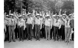 Los Camisas Doradas, una organización de la derecha radical en el cardenismo