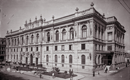 El antiguo Palacio de Comunicaciones
