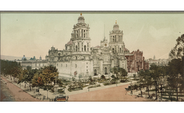 Sorprendente fotografía de 1884: Un instante de historia en la Catedral de la Ciudad de México
