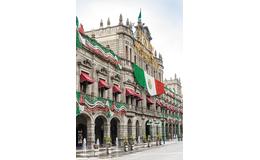 La Avenida Central (hoy Reforma) en Puebla