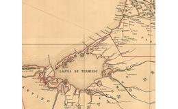Piratas en la isla de Términos