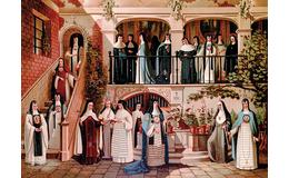 La monja novohispana que se ahorcó por amor