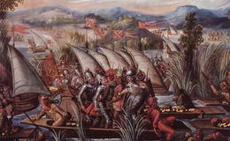 Cuauhtémoc es apresado por los españoles