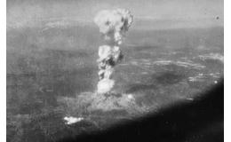 El 6 de agosto de 1945 se lanzó la primera bomba atómica contra Japón