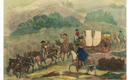 Taxis novohispanos ¿Cómo era el transporte público en la Nueva España?