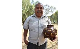 Abdón Punzo Ángel, maestro artesano de cobre