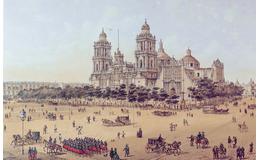"Postal ""La Catedral de México"""