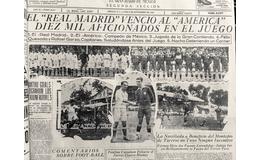 El Real Madrid de gira por México