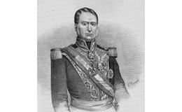 Mariano Arista. Bajo su mando se dieron los primeros encuentros de México contra los Estados Unidos en 1846