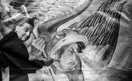 Aurora Reyes, luchadora magisterial, muralista y poeta