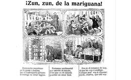 ¡Zun, zun, de la marihuana!