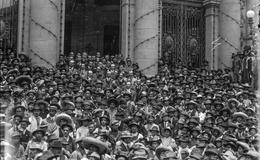 ¿Cuándo fue la primera marcha del Día del Trabajo en México?