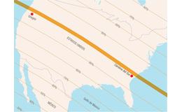 Un Eclipse total de Sol se verá en Estados Unidos el 21 de agosto de 2017