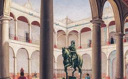 El 25 de enero de 1553 abrió sus puertas las primera Universidad de México