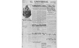 """Cien años de """"El Universal"""""""