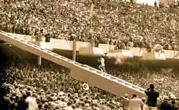 Llegada del fuego olímpico e inauguración de las olimpiadas de México 1968
