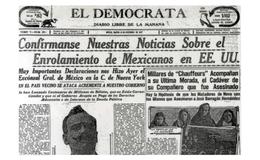 El enrolamiento de mexicanos en el ejército de Estados Unidos en 1917