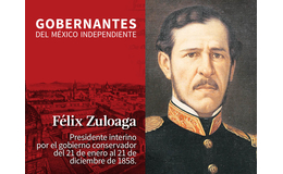 Félix Zuloaga (Presidente Interino del 21 de enero al 21 de diciembre de 1858)