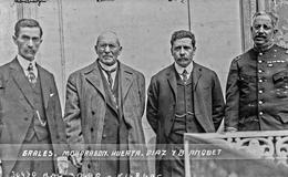 El 15 de julio de 1914 Huerta renuncia a la presidencia