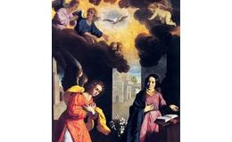 La Anunciación del Ángel Gabriel a la Virgen María