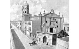 El antiguo Colegio Máximo de San Pedro y San Pablo