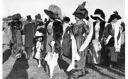 La infinita variedad del sombrero femenino