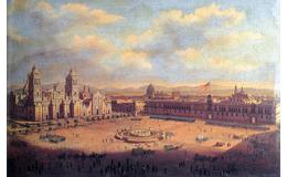 """Recuerdos del Zócalo: """"De cuando la bandera estadounidense ondeó en Palacio Nacional"""""""