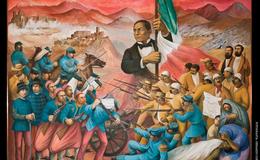 Benito Juárez se refugia en Paso del Norte