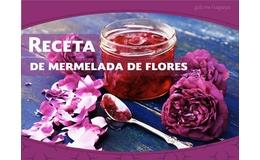 Prepara tu propia mermelada de flores comestibles