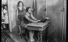 La historia de la máquina de escribir