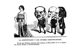 La Constitución y los últimos constituyentes de 1857