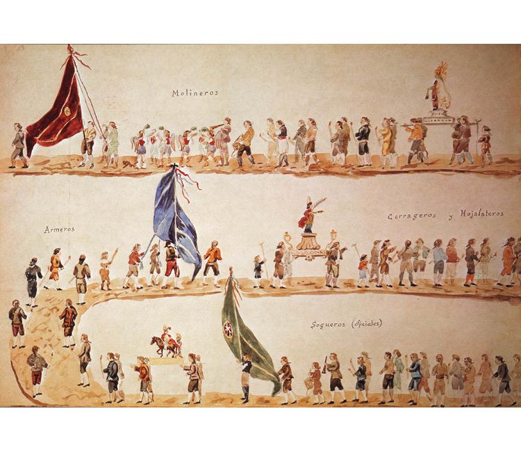 Gremios y artesanos en conflicto en Nueva España