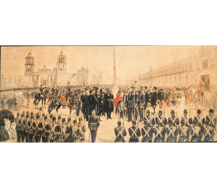 """Recuerdos del Zócalo (IV): """"El triunfo de la República en 1867: un acontecimiento que captó la atención del mundo"""""""