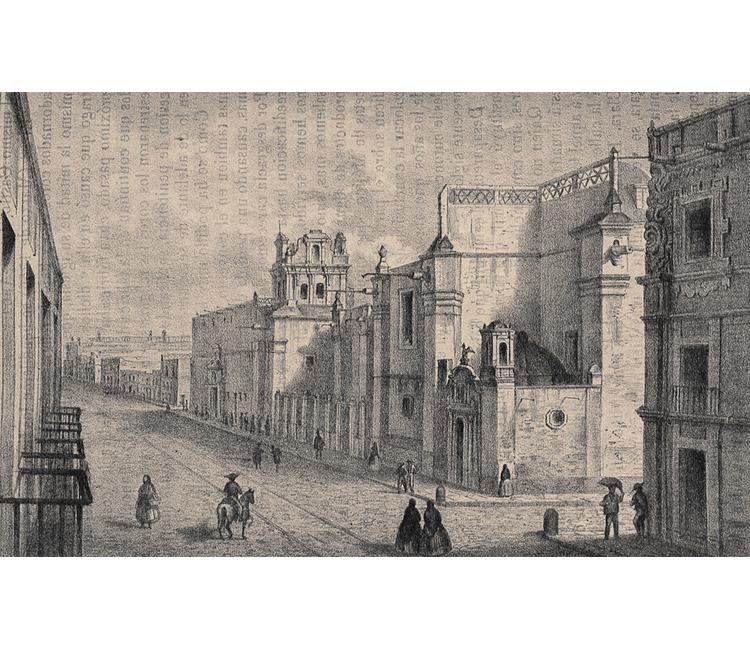La calle del 5 de Mayo (Primera parte: 1861-1868)