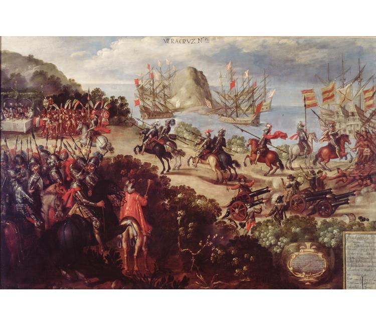 22 de abril de 1519, el desembarco de Hernán Cortés en Veracruz