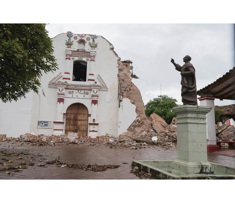 Recuento de los daños al patrimonio histórico mexicano tras los terremotos de septiembre de 2017
