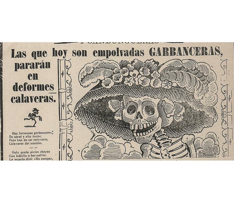 """¿Quién inventó el nombre de """"La Catrina""""? José Guadalupe Posada, no fue"""