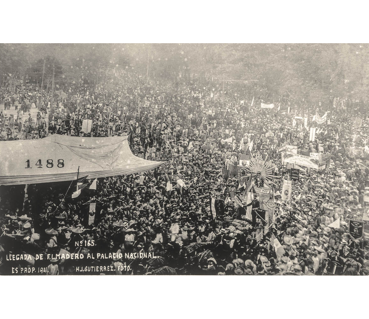 """Recuerdos del Zócalo: """"La entrada de Francisco I. Madero a Ciudad de México, 7 de junio de 1911"""""""