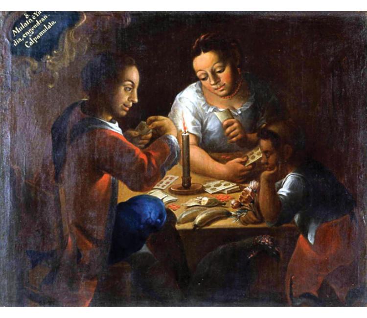 Pintura de castas, un catálogo de la diversidad del mestizaje en Nueva España