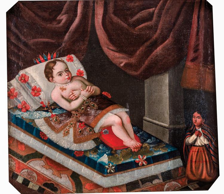 ¿Cómo eran los funerales de los niños que pertenecían a la aristocracia novohispana?