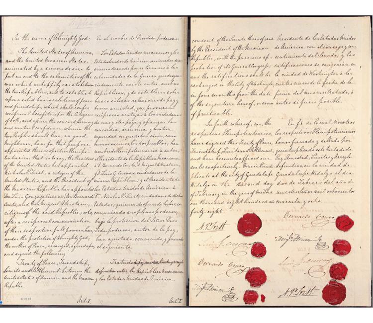 ¿Con el Tratado de Guadalupe Hidalgo, en realidad México salvó su existencia como nación?