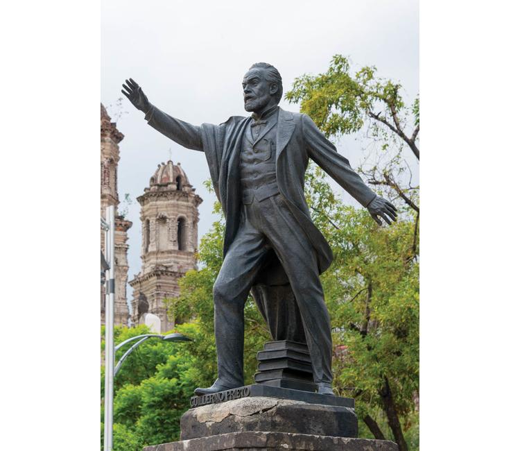 """Guillermo Prieto, el """"abuelito de la patria"""""""