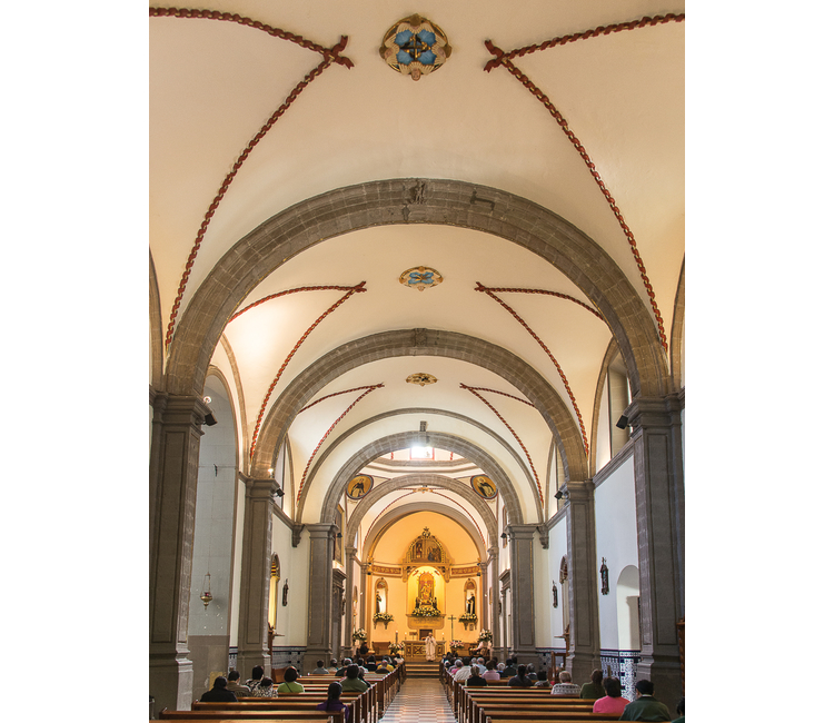 ¿Cuál es la Iglesia de la Candelaria en Tacubaya?
