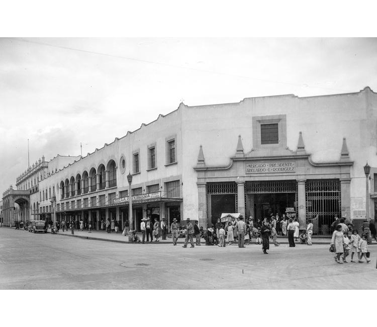 El extraordinario mercado Abelardo Rodríguez