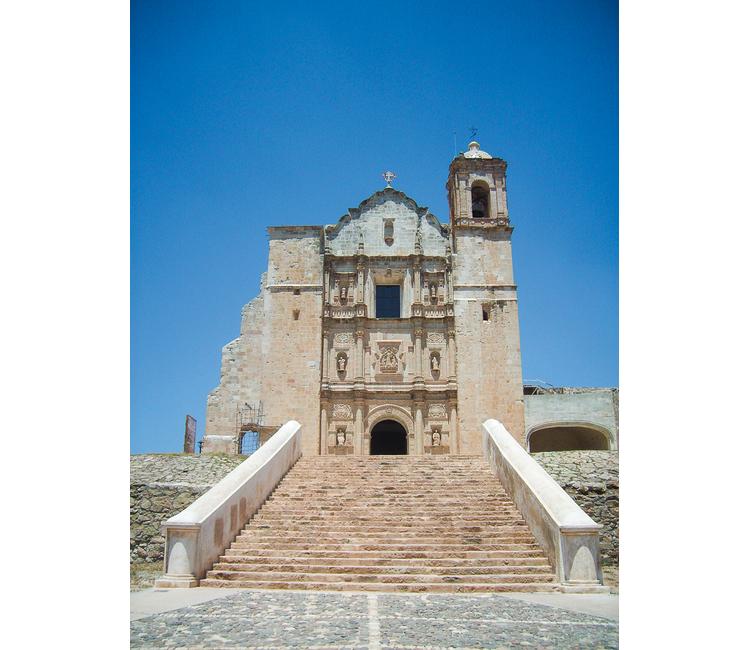 Joyas arquitectónicas en la Mixteca de Oaxaca