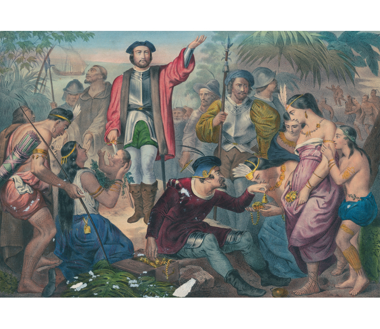 ¿Los españoles engañaron a los indígenas con espejitos?