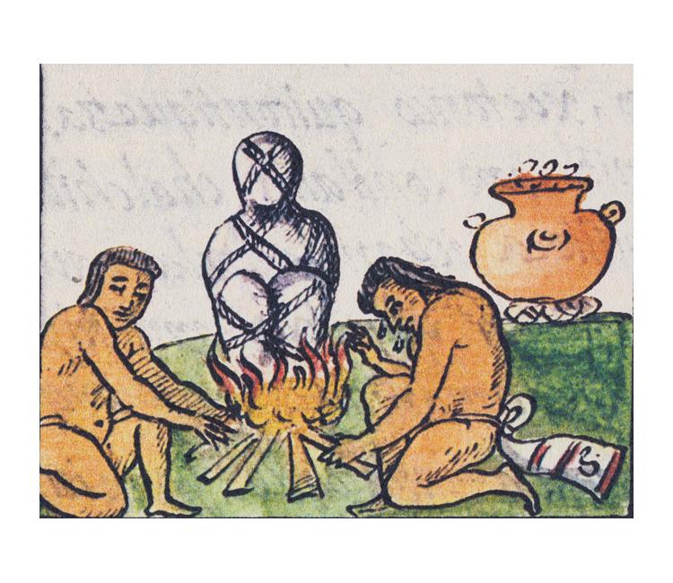 Honras fúnebres de los antiguos gobernantes de Texcoco