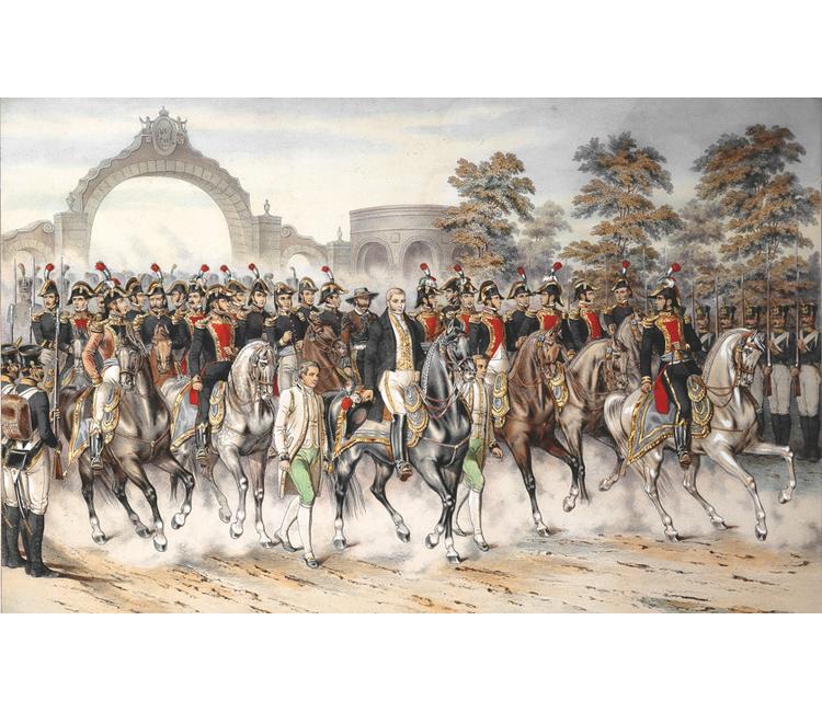 La guerra del Ejército Trigarante