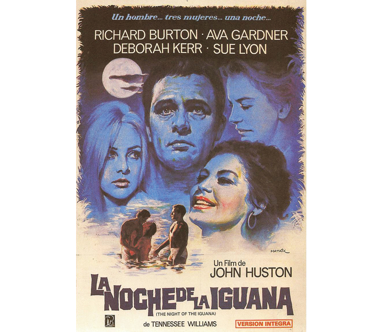 """¡Vamos al cine! Les recomendamos """"La noche de la iguana"""""""